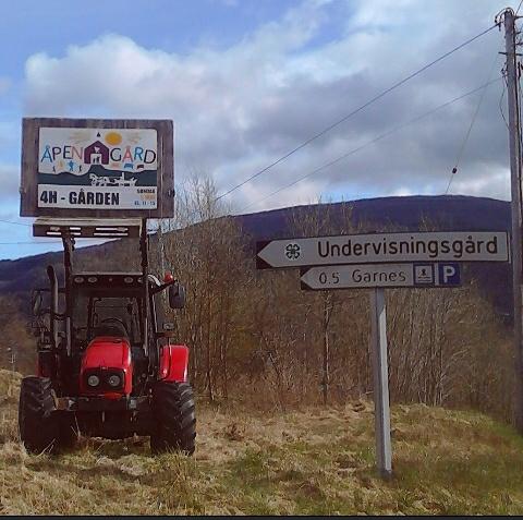Traktorskilt