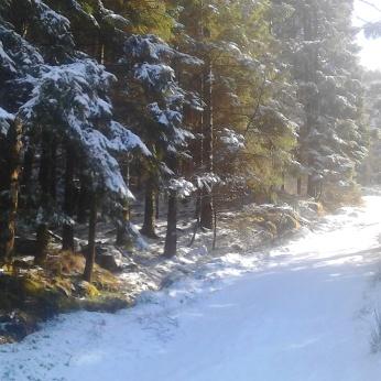 Vintertur mars 9