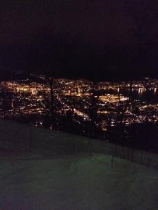 Utsikt fra Fløien
