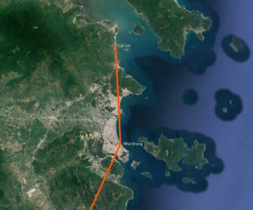 Reiserute Vietnam 2